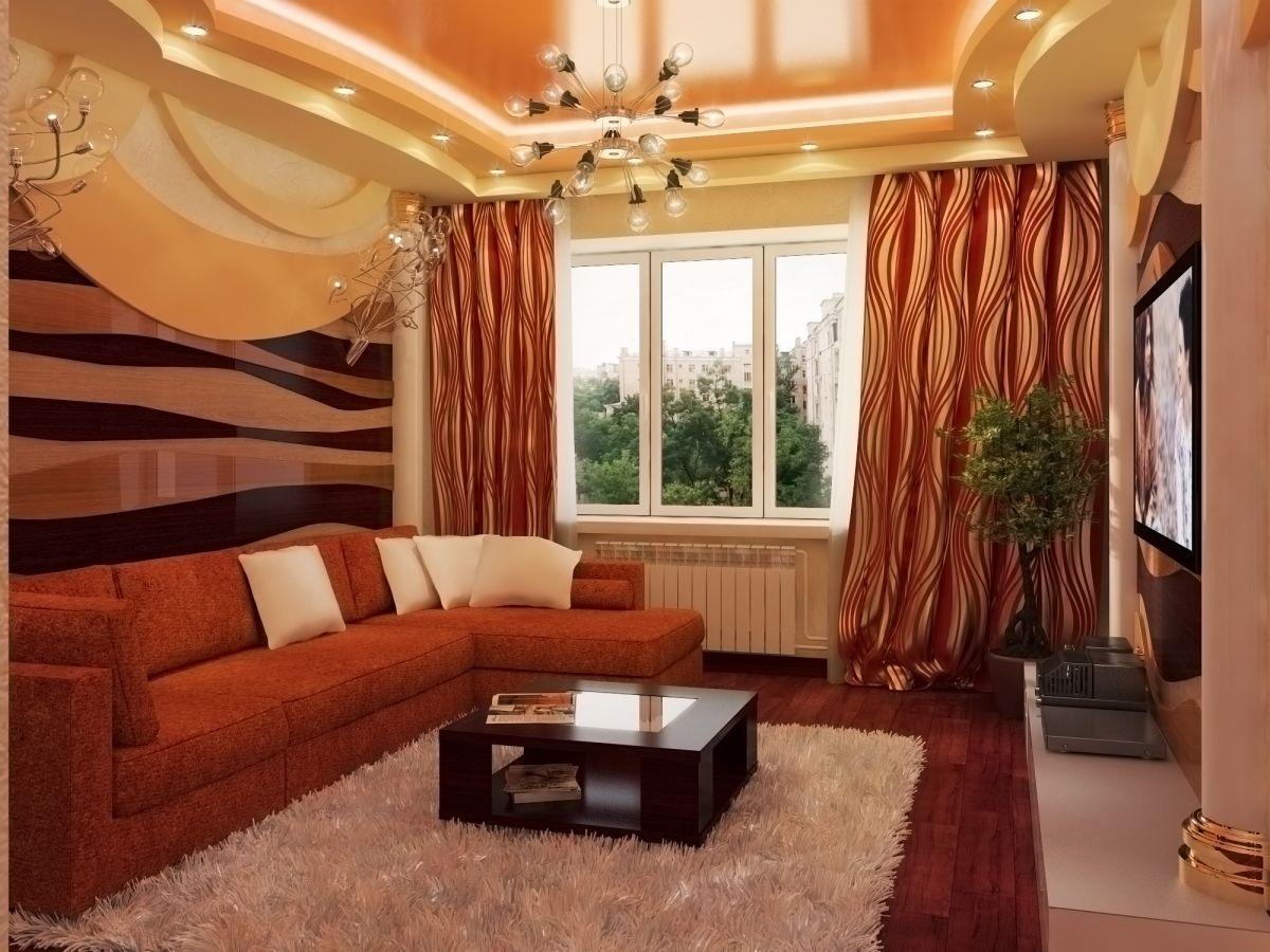 Дизайн зала в квартире 18 кв.м: фото, идеи domoked.ru.