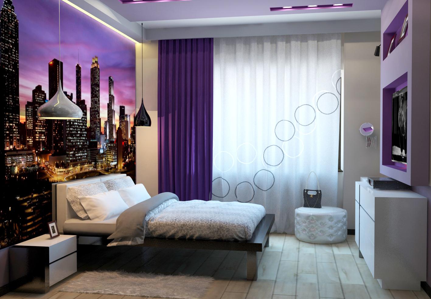 Спальня дизайн современный стиль