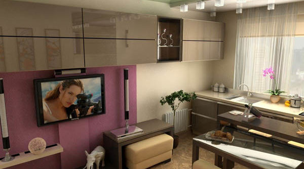 кухня-гостиная 15 квадратов дизайн