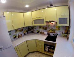 кухня угловая 10 кв м дизайн фото