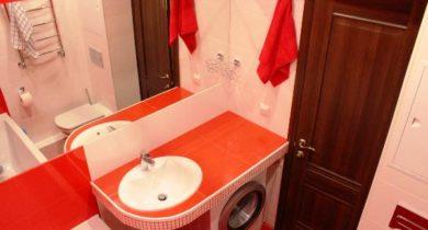 дизайн ванной комнаты фото 3 кв м с туалетом и стиральной машиной
